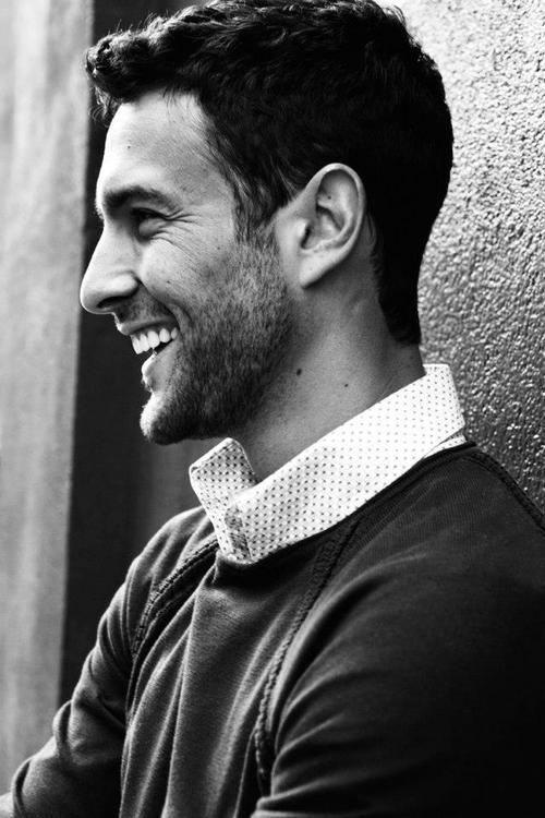 Canadian male model Noah Mills has a great smile. www.missKrizia.com