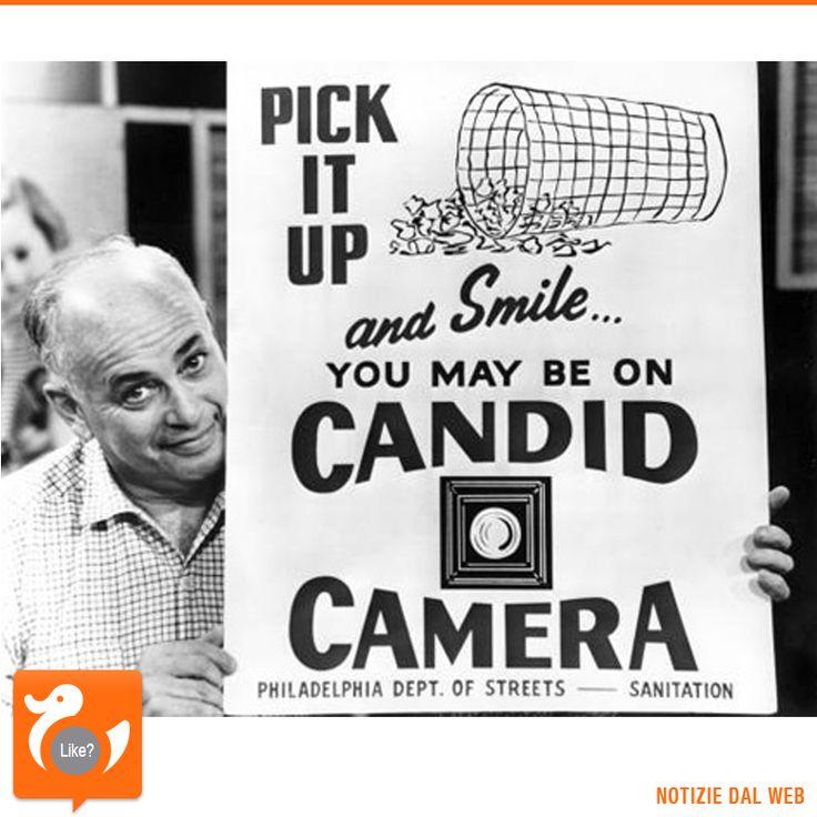 Dopo l'enorme successo ottenuto in radio, debutta in TV il format Candid Camera. Ideato da Allen Funt, lo spettacolo si basa su scherzi fatti ai passanti, ignari di essere ripresi. Era il 10 agosto 1948.