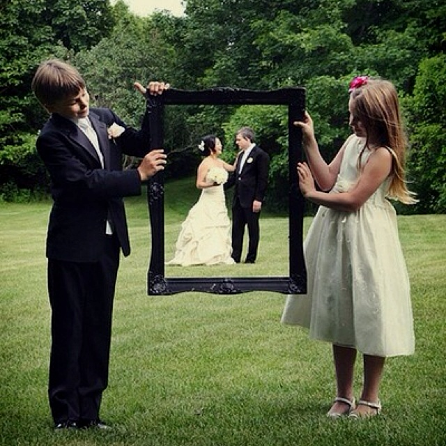 My idea of a great family wedding photograph!