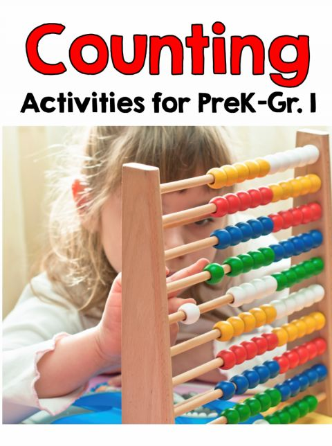 counting activities for prek to grade 1