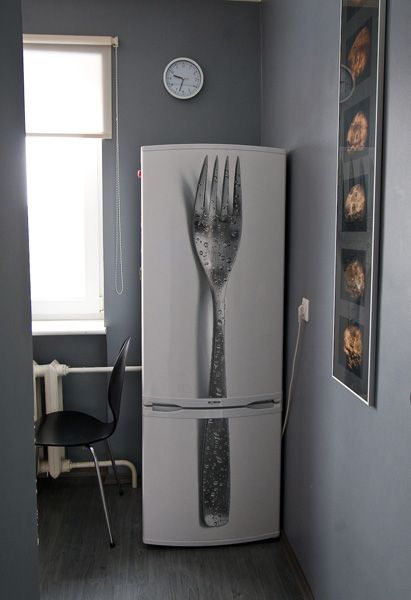 vinyl on your fridge > make it your own