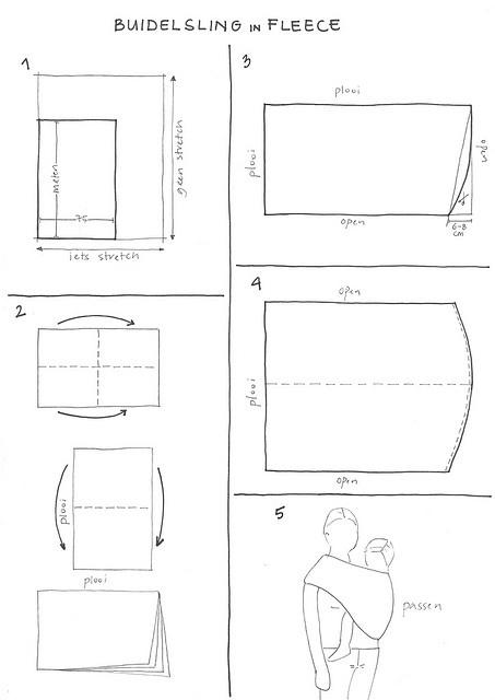 #DIY #wrap || baby sling | fascia porta neonato | écharpe porte-bébé | 'Buidelsling by Mme Zsazsa'