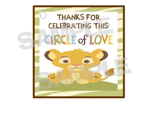 Simba Lion, Baby Simba, Baby Shower Party Favors, Baby Shower Parties, Shower  Baby, Hang Tags, Shower Invitation, Future Baby, Baby Ideas