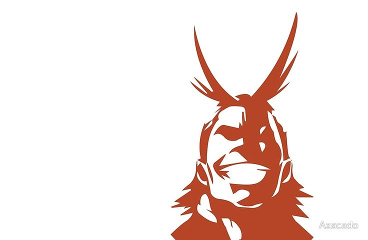 image result for all might stencil