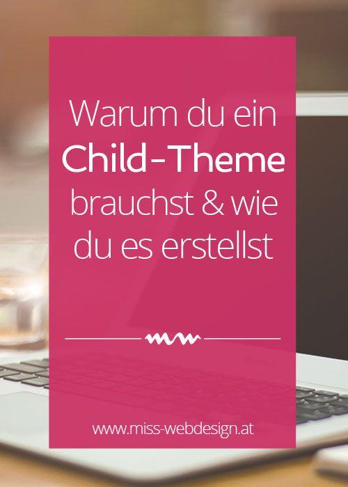 Warum du immer ein WordPress Child-Theme verwenden solltest und wie du eines erstellst. Ist dir das schon mal passiert? Du hast Änderungen an deinem Theme vorgenommen, Farben angepasst und Schriftarten geändert und nach dem nächsten Theme Update waren die Änderungen einfach weg?