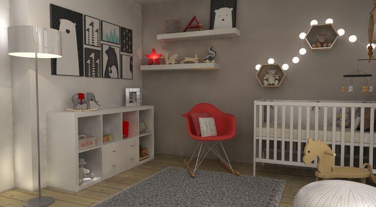 Chambre bébé par Q-bik / Baby's room by Q-bik