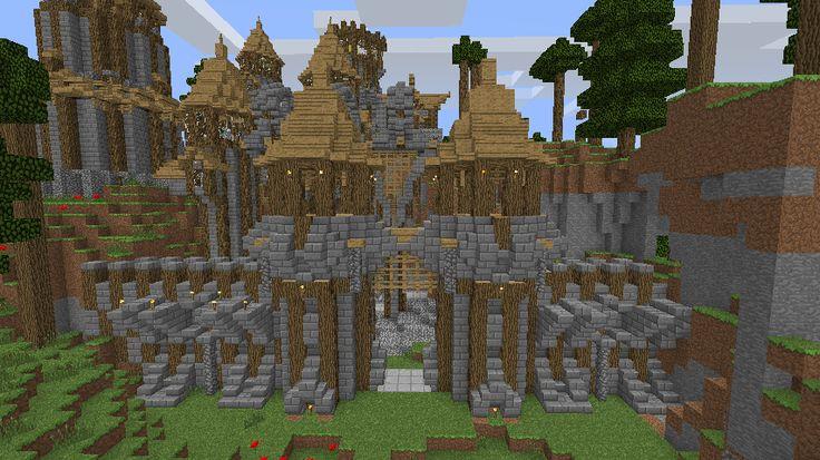 Minecraft Cliff Dwellings