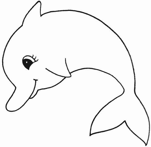 Delphin Malvorlagen Zum Ausdrucken