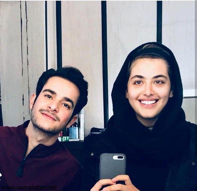 ریحانه پارسا و محمدجواد جعفرپور Iranian Actors Persian Girls Royal Blue Prom Dresses