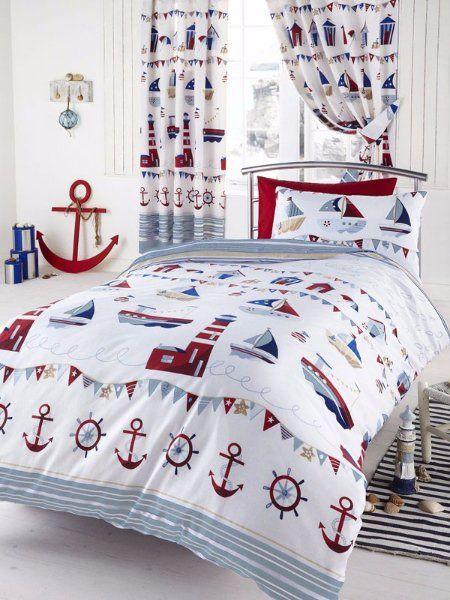 Dětské povlečení licenční námořník > varianta námořnické bílé podklad