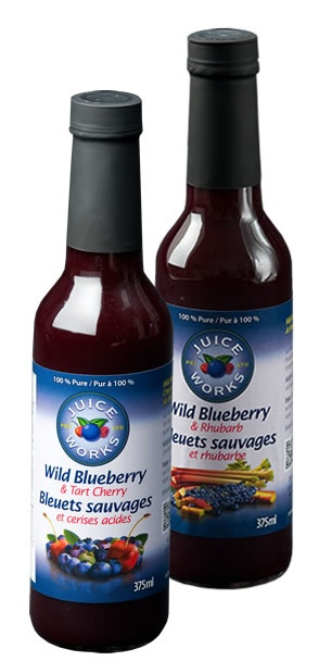 #PEI #Juice Works products are 100% pure wild #blueberry juice. There are approx 150 wild blueberries in every 60 ml serving of PEI Juice Works product. http://www.peijuiceworks.ca/