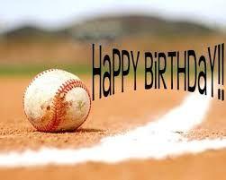Image result for happy birthday baseball