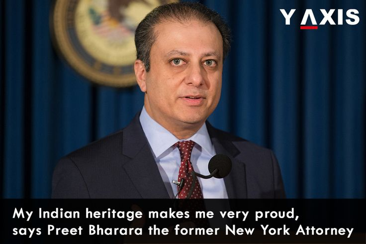 #Bharara very fondly recollected that his father had arrived at the #US barehanded but after forty years Bharara went on to become the global financial capital's federal law enforcement officer. #Preet Bharara  #WorkVisaUSA #USWorkVisa #YAxis #YAxisImmigration