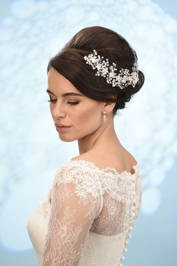 Haaraccessoires, Bruid, Tiara, Diadeem, bruidssieraden, swarovski, bandana, haarband, haarsieraad, trouwjurken, www.sayyestothedress.nl