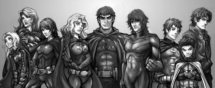Bat Family Sketch by *Quirkilicious on deviantART