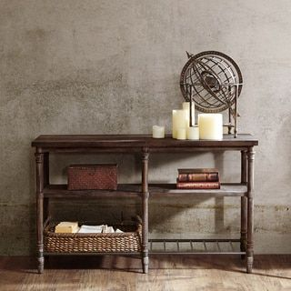 Shop for 54-inch Renate Sofa Table in Coffee Brown with Rack. Get free shipping at Overstock.com - Your Online Furniture Outlet Store! Get 5% in rewards with Club O!