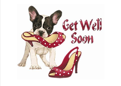A get well card. Add your own message & pictures. Click to send a real card in the mail or go to htttp://createcards.info or http://helenian.info