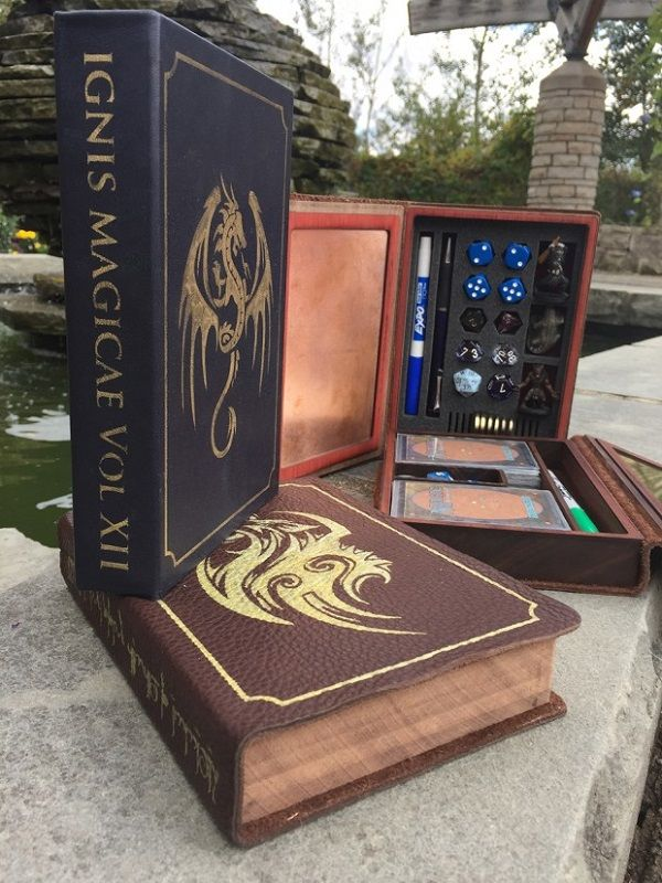 These Spellbooks Are Secret Gaming Boxes