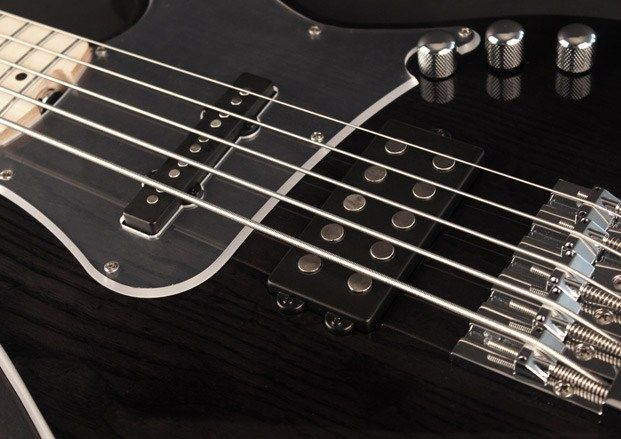 Cort Guitars Introduces GB75JH Electric Bass From the company: This new addition to the GB7 series meets 21st-century demand by combining a proven body and bridge design with enhanced electronics, machine heads and more. Players will make a statement with a bass tone that lives up to this ... #bassguitar