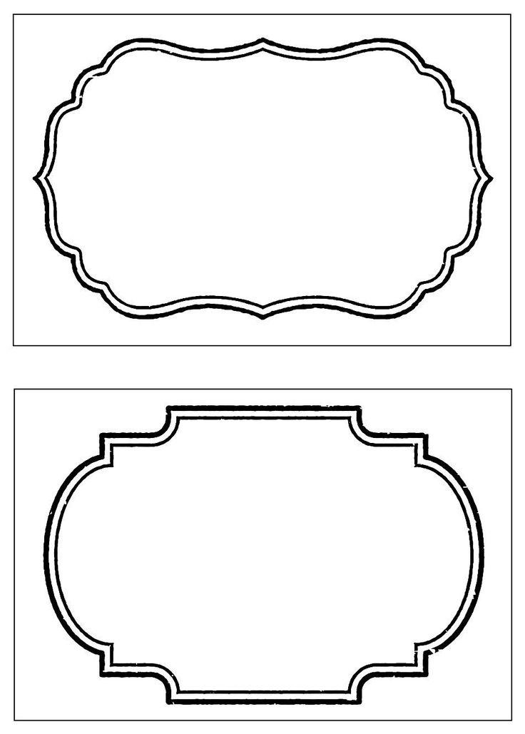 Ingyenes Nyomtatható Label sablonok | SampleTemplates123