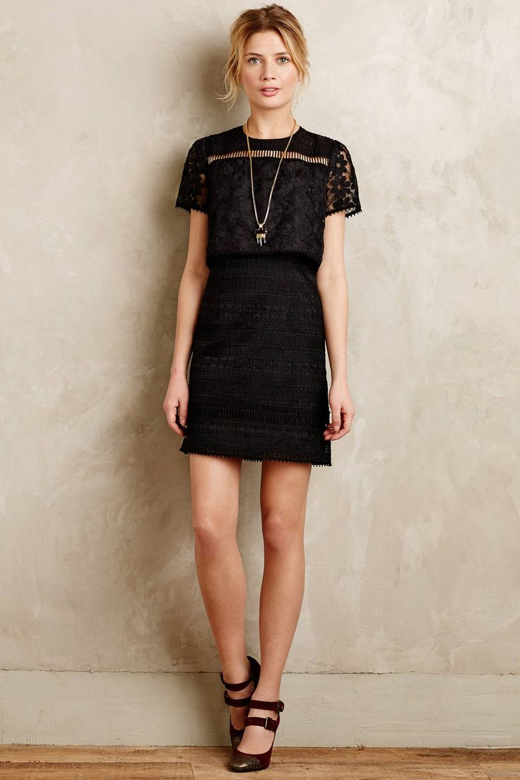 Eventide Embroidered Organza Dress - anthropologie.com