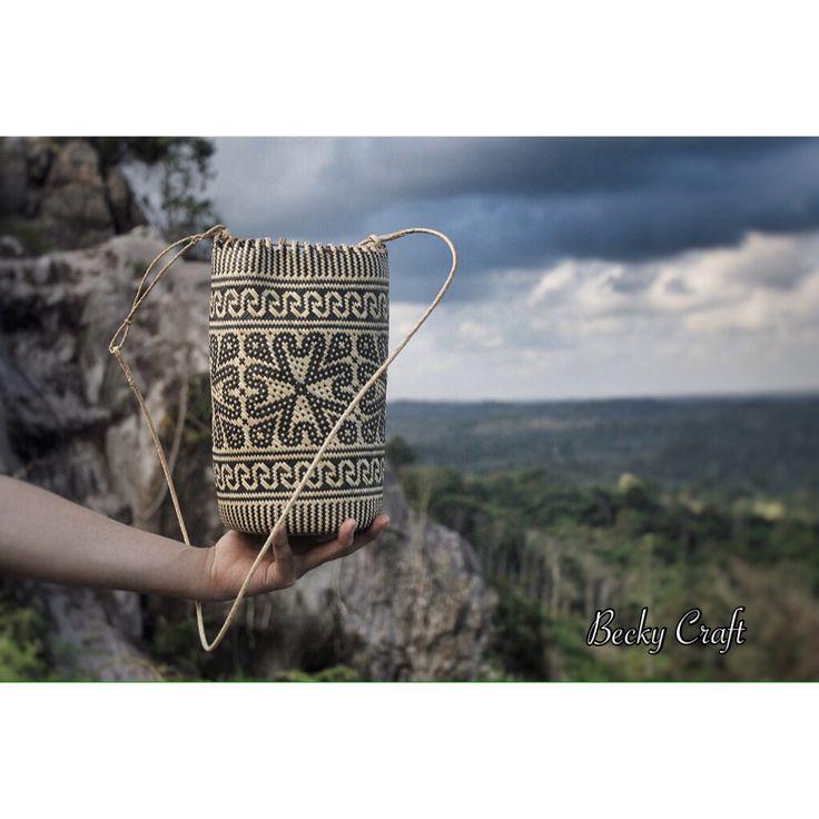 Anjat Borneo #rattan #borneo #handicraft