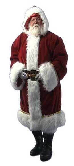 Old Tyme Santa Suit