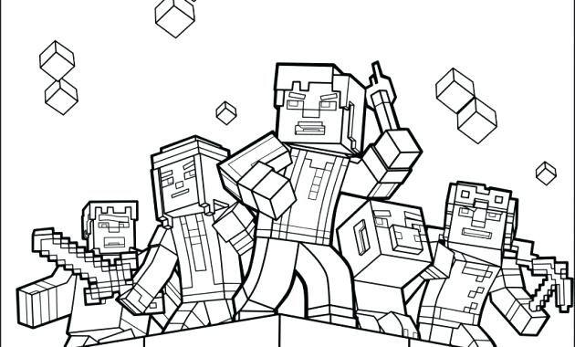 Malvorlagen von Minecraft kostenlose minecraft malvorlagen