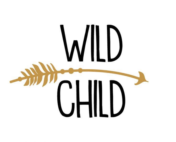 Free SVG cut file - Wild Child