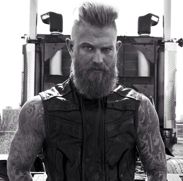 Beard And Mohawk Dapper Beards And Mustaches Pinterest