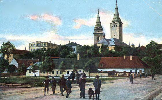 Hlinkove námestie 1 Žilina Slovakia/www.facebook.com/pages/Slovensko-na-historickych-fotografiach