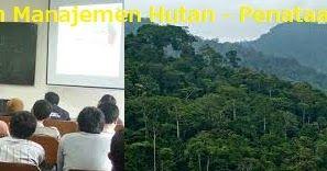 Makalah Mata Kuliah Manajemen Hutan - Penataan Hutan