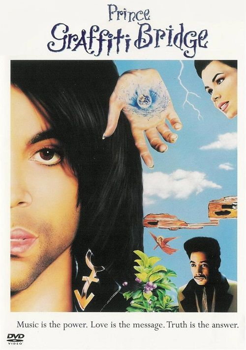 Prince played the role of The Kid in the movie Graffiti Bridge (1990)
