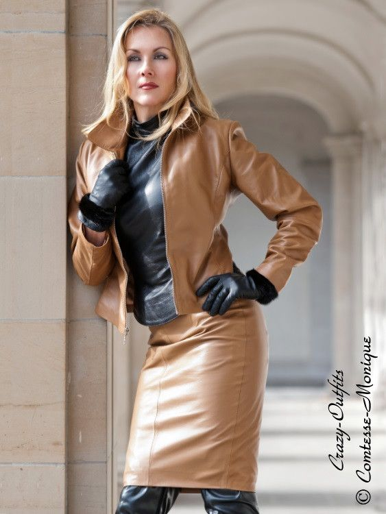 e3f9d5b6cfbff Comtesse Monique Leather 5 | Satin | Leather, Leather pants, Womens leather  skirt