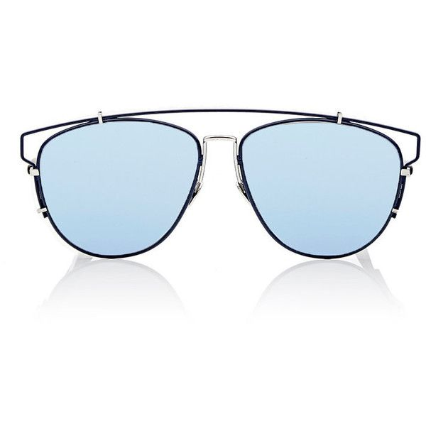 """Dior Women's """"Dior Technologic"""" Sunglasses (37,170 INR) ❤ liked on Polyvore featuring accessories, eyewear, sunglasses, multi, flat-top sunglasses, matte sunglasses, mirrored sunglasses, matte lens sunglasses and christian dior glasses"""