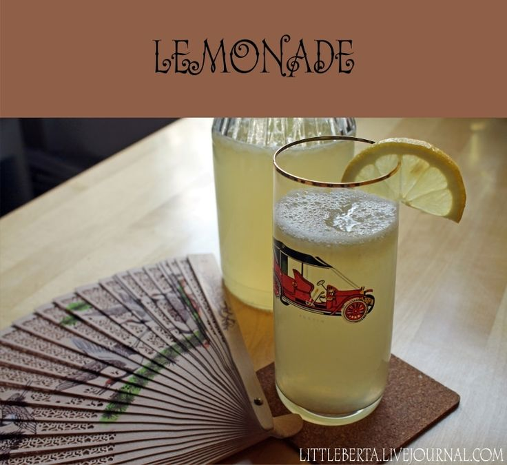 Lemonade | by Little Berta #recipe #lemonade #summer #lemon #picnic