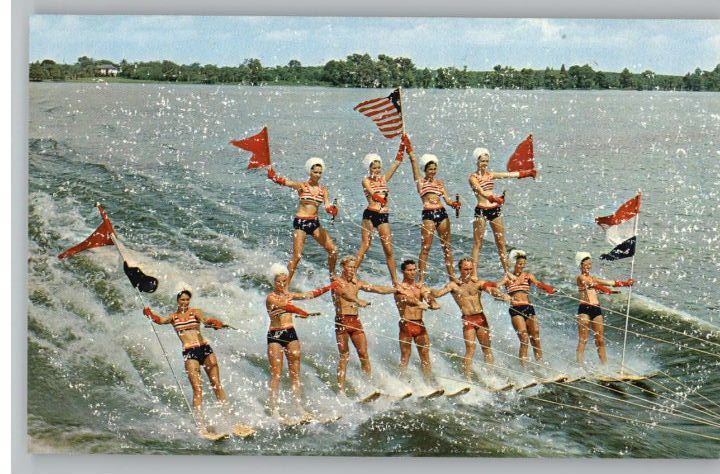 vintage water skiing (With images) | Cypress gardens
