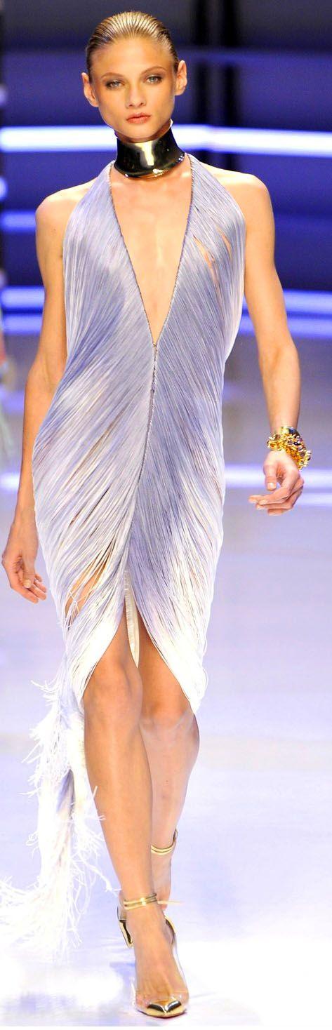Alexandre Vauthier ~ Haute Couture Shimmery Lavender Cocktail Dress