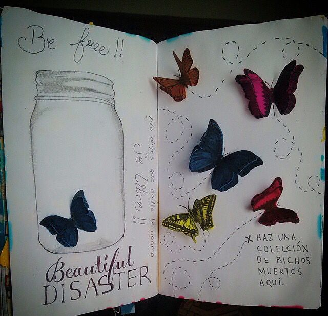 Wreck this journal | Bugs