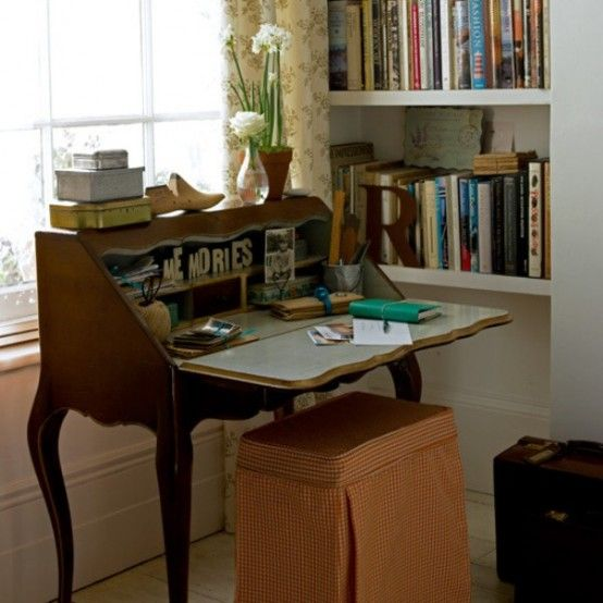 43 Old, Retro, Vintage And Charming Home Offices - Best 25+ Vintage Home Offices Ideas On Pinterest Vintage Office