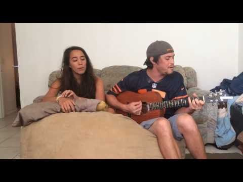 I Knew You Were Trouble Cover by Alex and Sierra and a Big Bean Bag
