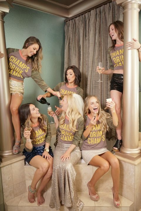 Party Guide: 4 Champagne Themed Bachelorette Parties