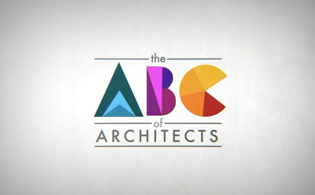 The ABC of Architects  a brief history of the masters of architecture and the buildings they are famous for