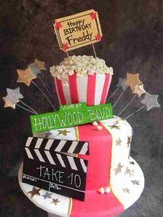 cake ideas hollywood theme hollywood movie movie theme cake fun cake