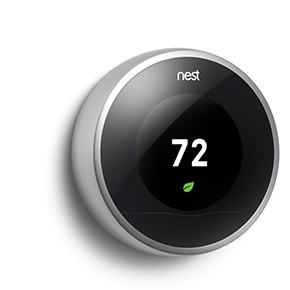 elegant design, I want it - Nest personalizes its features for you. After it learns about you and your home, Nest Sense™ automatically balances comfort and energy savings.
