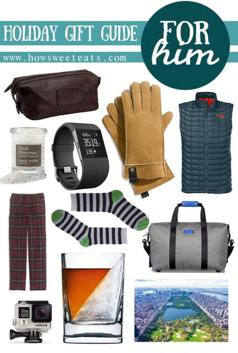 holiday gift guide for him I howsweeteats.com