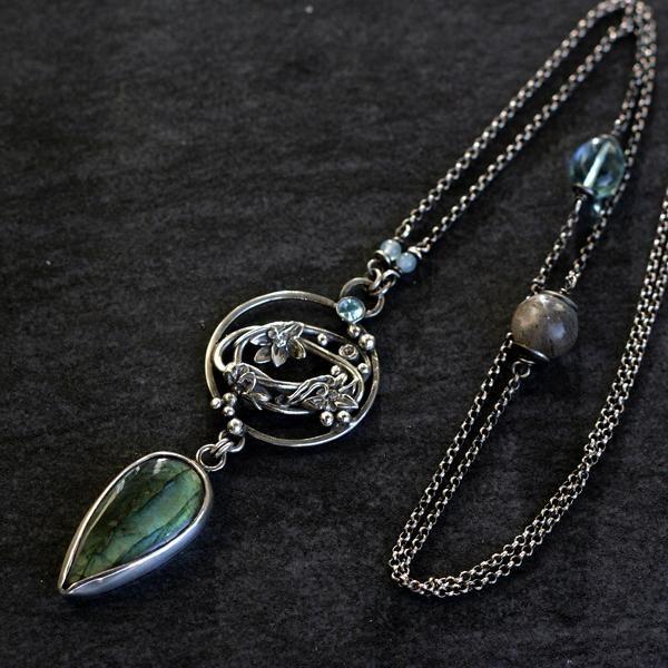 art clay,вручную сделанный ювелирные изделия - Ожерелья - Ювелирные изделия в ArsNeo