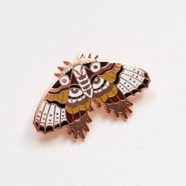 Moth Statement Pin - Sad Truth Supply