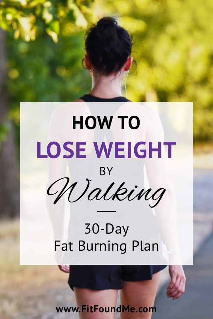 Walking for weight loss plan perfect for anyone starting to lose weight or tryin…
