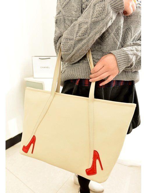 20363 Rice White Tinggi : 27cm Lebar : 37cm Tebal : 15cm Cara Buka : Resleting Tali Panjang : Tidak Ada Bahan : PU 400 gram 135.000 #fashion #bag #tas